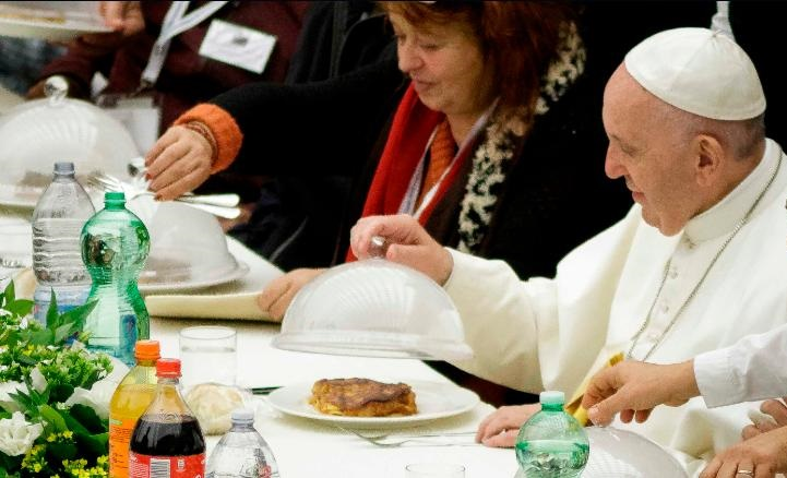 Pope Gets A Challenge: Be Vegan For Lent