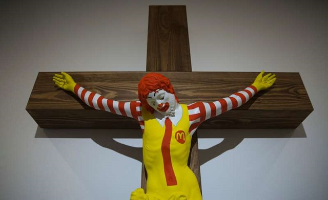 Ronald McDonald Sculpture Sparks Fury In Israel