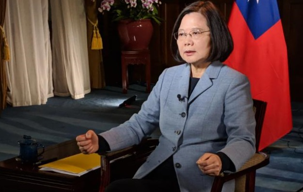 Taiwan President Sounds Alarm About Chinese Aggression