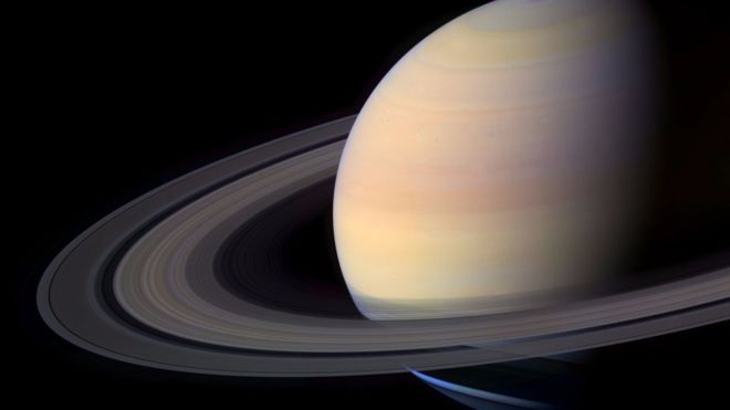 Saturn's Rings Relatively Young, Scientists Say